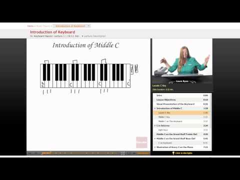 Music Theory: Introduction to Keyboard