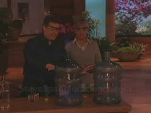 Steve Spangler on The Ellen Show April 2008