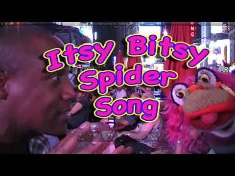 Itsy Bitsy Spider Song by Anthony McGlaun for Toddlers and Preschool Children