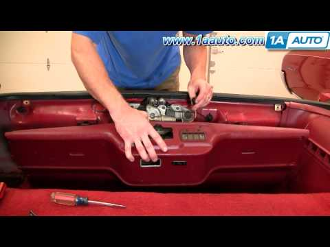 How To Install Replace taillight Chevy Camaro IROC-Z 82-92 1AAuto.com