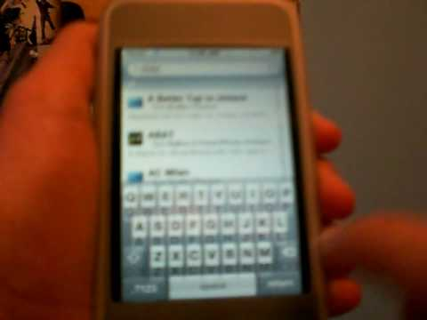 How to change your slider on your iPod Touch or iPhone Using Winterboard - Needs to be jailbroken