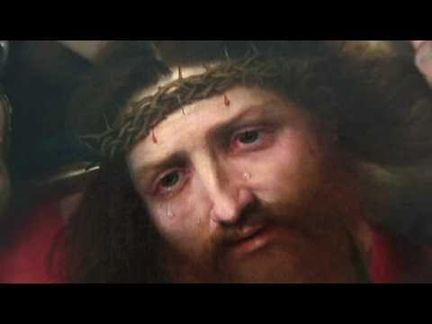 Louvre Atlanta Highlights   Christ Carrying The Cross, Lorenzo Lotto (1526)