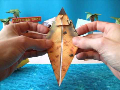 Funny Origami Turtle