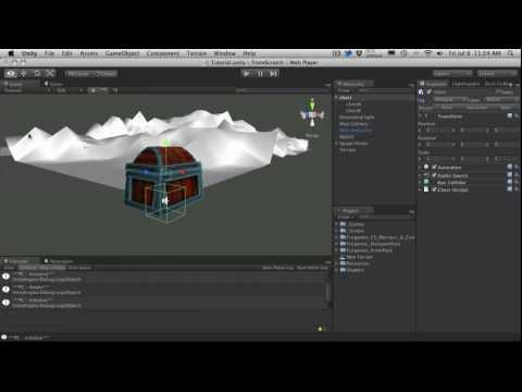 243. Unity3d Tutorial - From Scratch Part S - Chest Setup