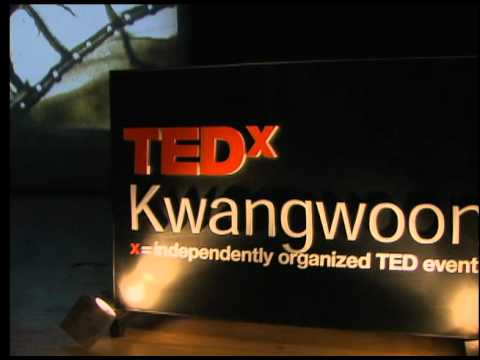 TEDxKwangwoon - 장폴로- 'The Cinematographer' Sand Painting- 03/27/10 - Korean Version