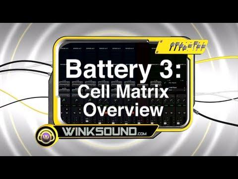 Native Instruments Battery 3: Cell Matrix Overview | WinkSound