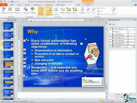 How to Compare and Merge PowerPoint 2010 Presentations