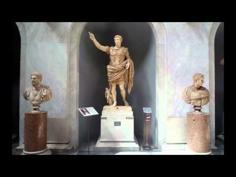 Augustus of Primaporta, 1st century C.E. (Vatican Museums)