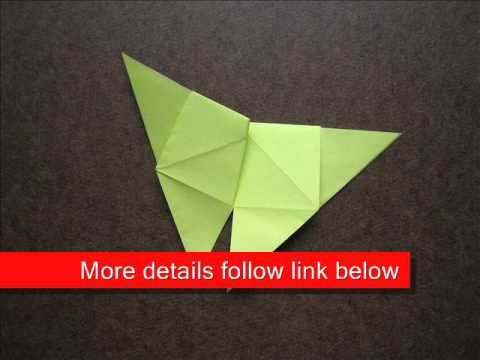 How to Fold Origami Butterfly - OrigamiInstruction.com