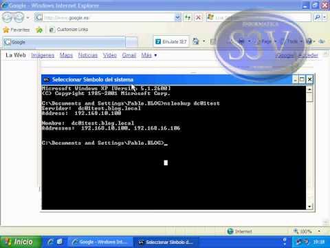 Windows Server 2003 - DNS reenviadores funcionamiento