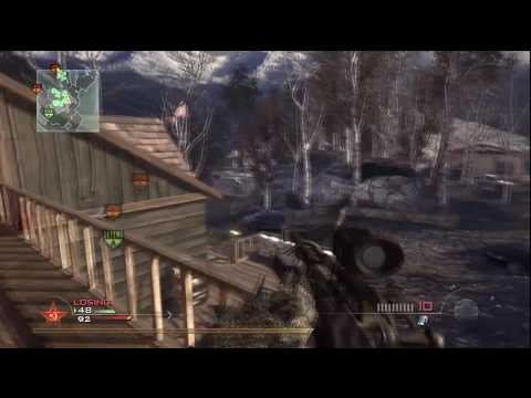 Call of Duty : Modern Warfare 2 - Going 35-7 w/ Barrett and SPAS-12 @ Estate (HD)
