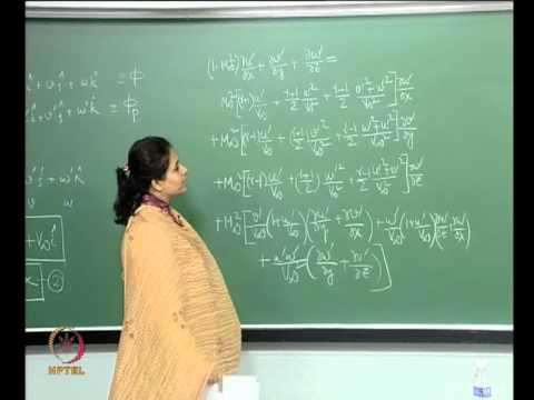 Mod-01 Lec-23 Lecture-23-Flow over a Wavy wall: Formulation using Perturbation Theory