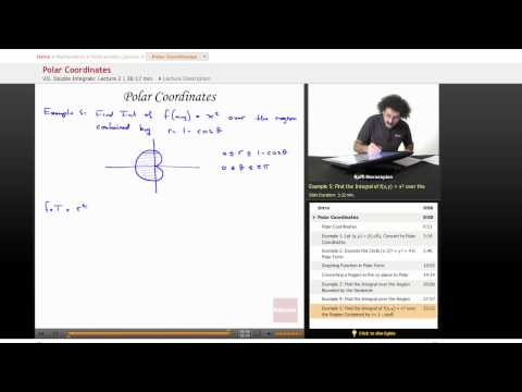 Multivariable Calculus: Polar Coordinates