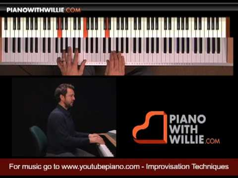 Learn Piano Improvisation - Part 7 - Start with chord tones
