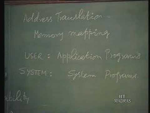 Lecture - 19 Virtual Memory