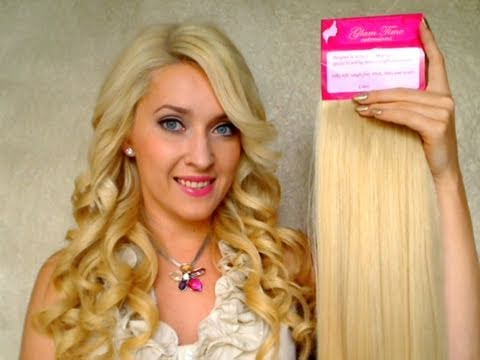 How to apply clip in hair extensions for thin hair Before after short best Remy human hair review