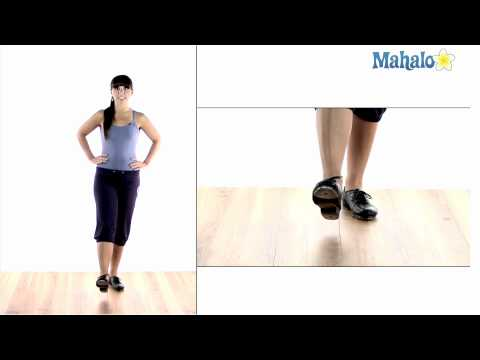 How to Tap Dance: Ankle Roll Warm Up