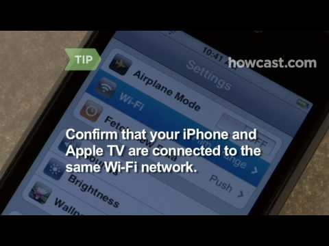 How to Control Apple TV With Your iPhone