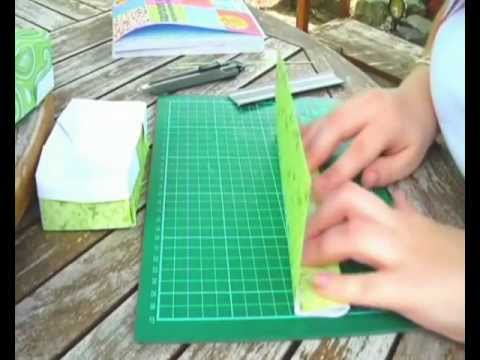 Origami box - Tutorial