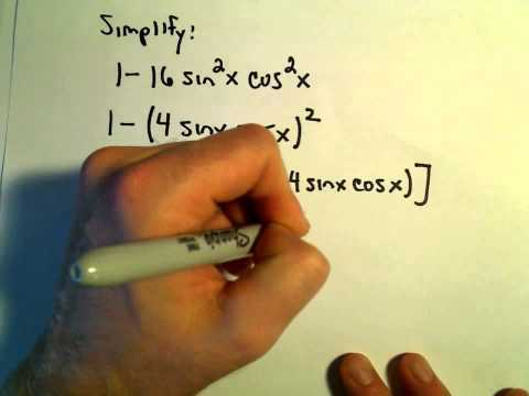 Using the Sum and Difference Identities for Sine, Cosine and Tangent, Ex 3