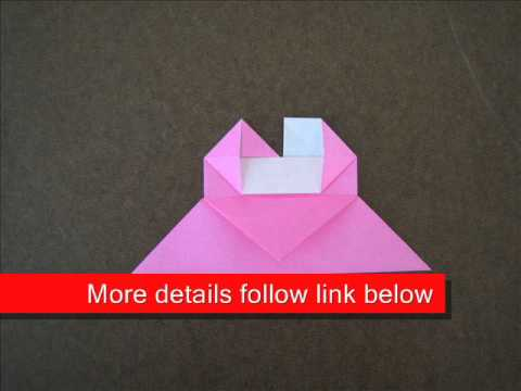 How to Fold Origami Bookmark - OrigamiInstruction.com