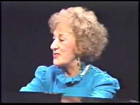 Marian McPartland Talks About Her Sound