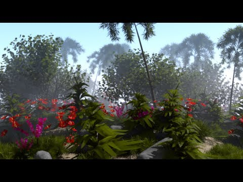 Blender 2.6x Tropical Terrain - 07 - Mist, Defocus, Compositor