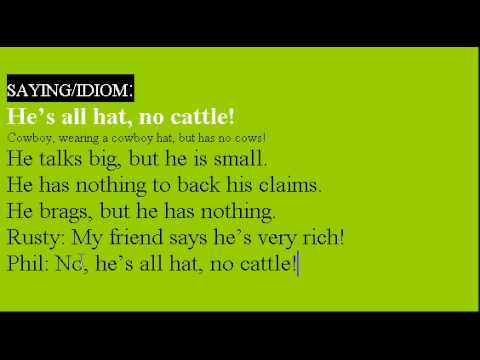 Learn English Idioms Lesson #22