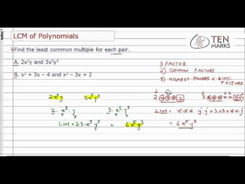 Least Common Multiple of Polynomials