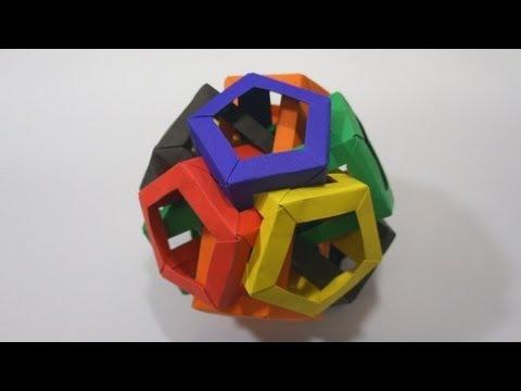 Origami Six Pentagonal Prisms (Daniel Kwan)