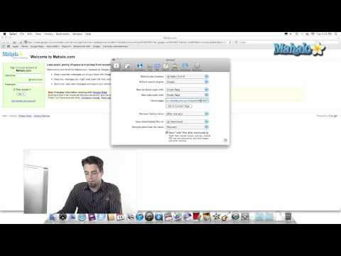 Using Safari - Create a Homepage