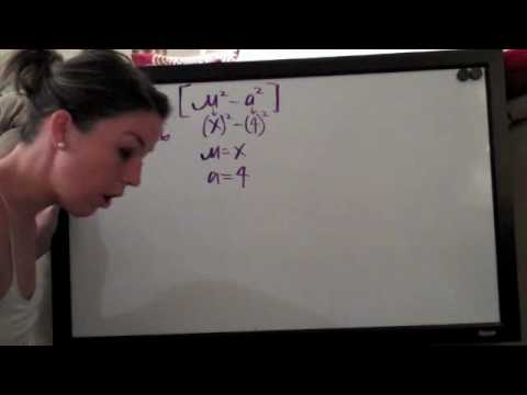 Trigonometric Substitution Example 1 PART 1/3