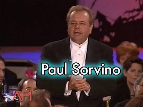 Paul Sorvino Salutes Martin Scorsese at the AFI Life Achievement Award