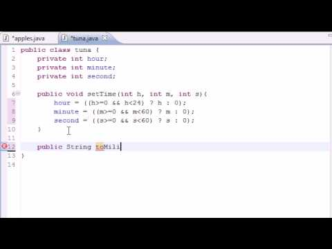 Java Programming Tutorial - 36 - Time Class