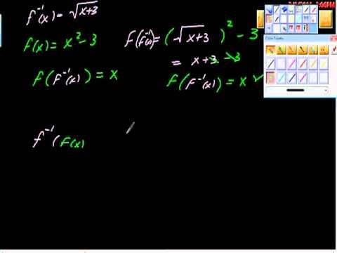 Inverse Functions (Precal, algebra))