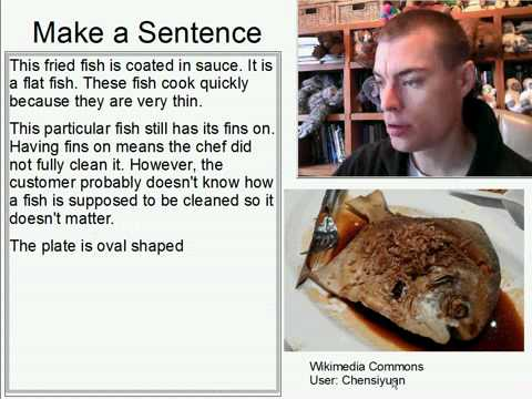 Learn English Make a Sentence and Pronunciation Lesson 103: Fried Fish