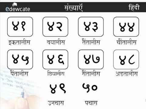 Lesson 1: Learn Hindi Numbers 1 to 100