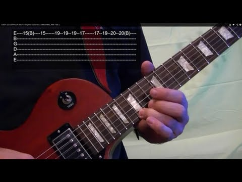 SHOUT IT OUT LOUD ( Guitar Lesson ) by KISS, With Tabs
