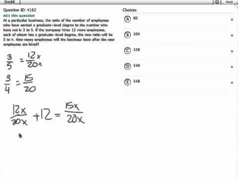 Grockit GMAT Quantitative - Problem Solving: Question 4162