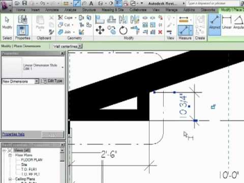 InfiniteSkills Tutorial | Revit Architecture Dimensioning Training Essentials