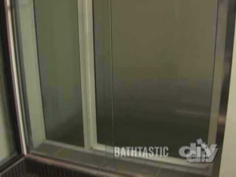 Shower Door Detail-DIY