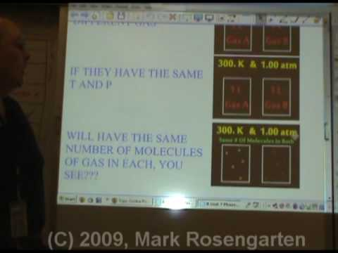 Chemistry Tutorial 3.3c:  Avogadros Hypothesis
