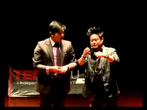 TEDxNTU - JC Sum-  Behind Magic: The value of being different