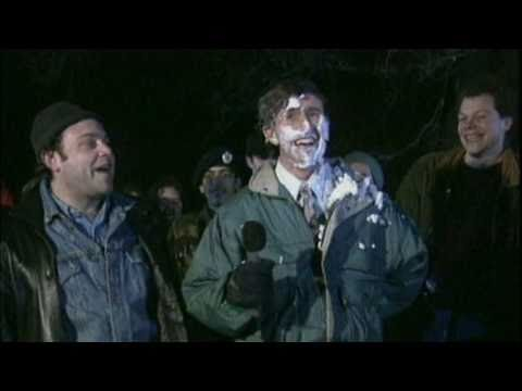 Alan Partridge custard pie contest - Classic Comic Relief