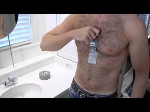 Duct Tape use #132, Hair Removal | Not Approved