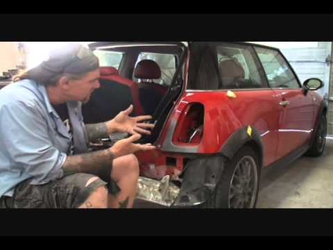 Auto Collision-How To Repair A Dent Properly. Part 3