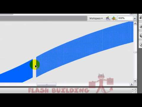 Flash Wave Animation Tutorial - Flash 8, CS3, and CS4 -  Any Actionscript