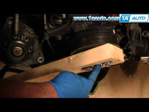 How To Torque Toyota Lexus V8 Harmonic Balancer Bolt without special tool 1AAuto.com