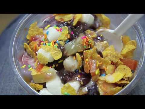 "My favorite Korean summer dessert - ""Patbingsu"" 팥빙수"