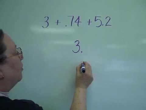 3.2.1 Adding Decimals